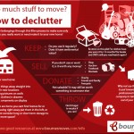 decluttering for moving house infographic