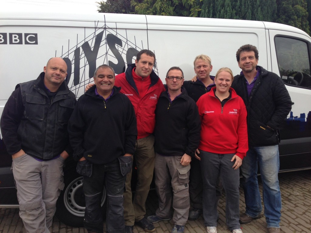 Removals and Storage for DIY SOS: The Big Build