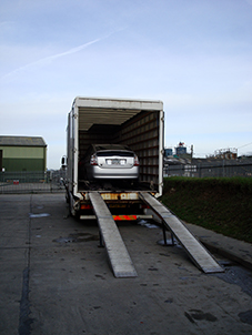 Shipping a car to Canada