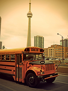 Finding a school when moving to Canada