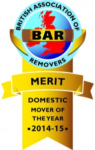 BAR Domestic Mover of the Year - Certificate of Merit