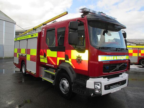 East Sussex Fire and Rescue Service Appliance - Rye