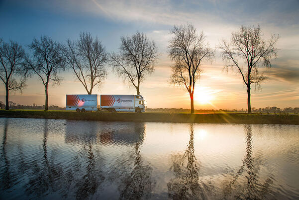 removals lorry in holland