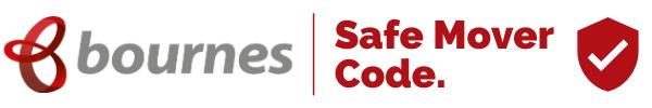Safe mover code logo