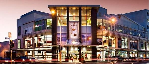 Newmarket in Auckland New Zealand