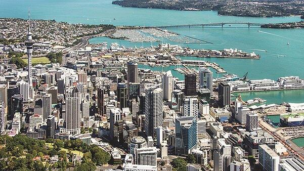 The view if you move to Auckland in New Zealand