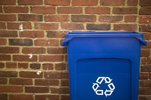 environmental improvement - recycling bin