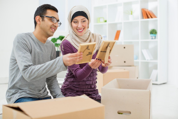 unpacking tips when you move house