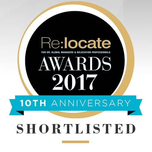 Relocate Finalists at 2017 Global Mobility Awards