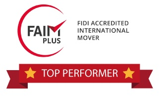 Why should I use a FIDI FAIM company for international removals?