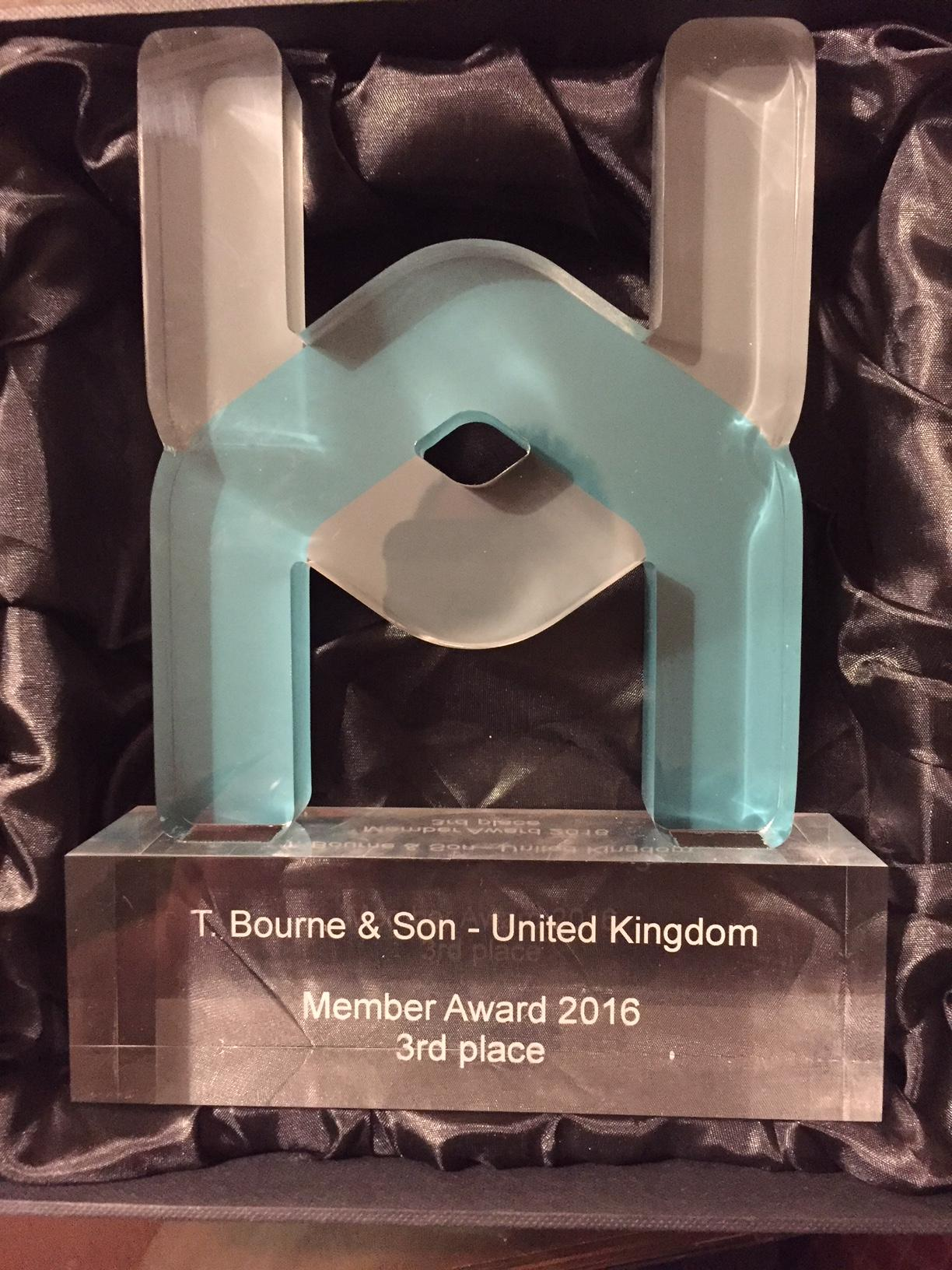 Bournes service quality recognised by Harmony Members