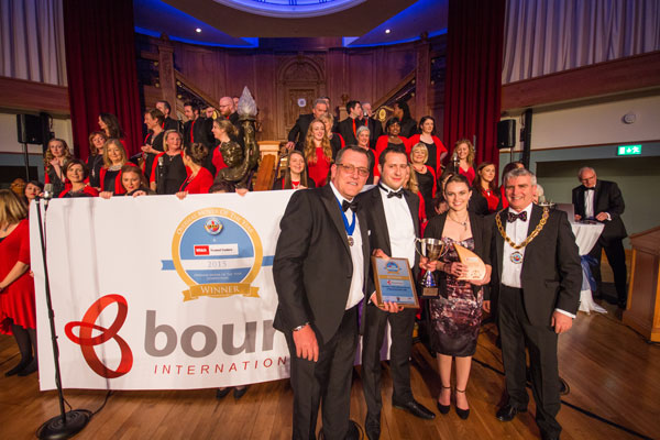 Bournes win Overseas Mover of the Year 2015