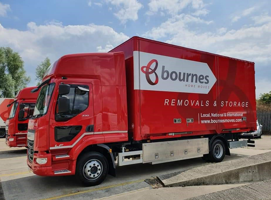 New look for Bournes removals lorries