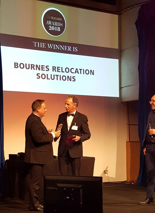 Bournes win Best International Removals provider and Excellence in Diversity and Inclusion awards