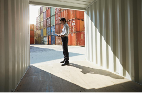 Container shipping options for moving household goods overseas